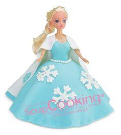 Gâteau reine des neiges | Scrapcooking