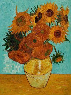 Vincent van Goph's sunflower painting