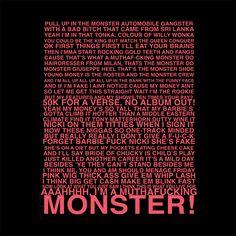 Nicki Minaj Hook- Monster