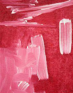 Title  Crimson Narrative C2013   Artist  Paul Ashby   Medium  Painting - Oil & Acrylic On Canvas
