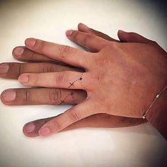 Resultado de imagem para tatuagem aliança
