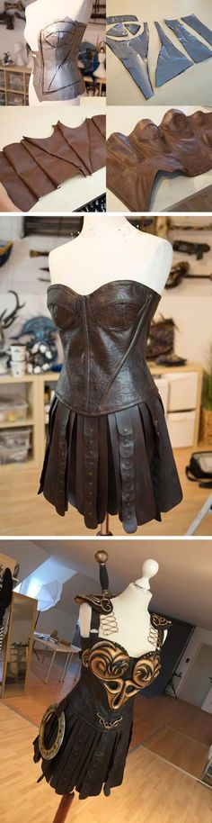 Learn How You Can Make the Ultimate Xena Costume- I don't know who Xena is, but I bet this tutorial will come in handy