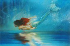 Underwater Princess by John Rowe