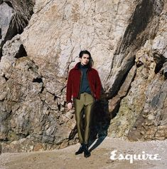 Lee Dong Wook Pairs Perfectly with Esquire Korea for Winter Beach Pictorial Lee Dong Wook Photoshoot, Lee Dong Wok, Korea Winter, Winter Beach, Male Fashion Trends, Esquire, King Kong, Best Actor, K Idols
