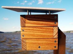 available at; modern birdhouses  #modern #birds