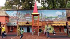mátyás király játszópark Neon, Park, Neon Colors, Parks, Neon Tetra