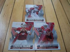 PATRICK PETERSON MICHAEL FLOYD CARSON PALMER 2014 Absolute Retail Cardinals Lot