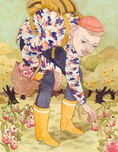 Illustration by Eero Lampinen for Mainostaja magazine, 2013