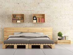 C'est très tendance, les meubles en palettes ! Mais comment s'y prend-on pour réaliser soi-même un lit à base de palettes ? Suivez le guide.