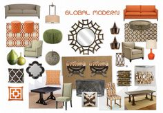 Global Modern by restylist | Olioboard