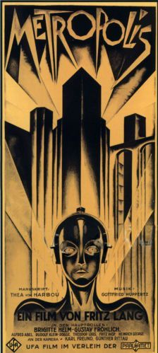 Kunstfilm Neuer Weinlesedruck Kunst Plakat Metropolis Movie Posters Vintage Metropolis Poster Classic Movie Posters