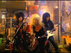 Mötley Crüe - Too Young To Fall In Love  OH!! Sitting here watching these vids reminds me why Motley Crue was my favorite band EVER as a teen!!! <3 <3