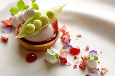 Madrona Manor has  sumptuous dishes!