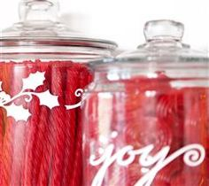 Use this super easy technique to spice up your candy jars!