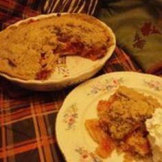 Cranberry Apple Pie I