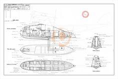 Idrovolante Savoia Marchetti S.55P-Cod. DW-S55-84x56 ALLESTIMENTO