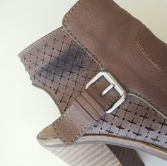 Photos of mark on DV boots Did not notice until shipping them, can you let me know if you would still like the boots? If not, no worries! Dolce Vita Shoes Ankle Boots & Booties
