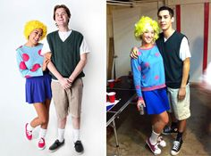 20 Couples Costumes for Kids of the '90s via Brit + Co.
