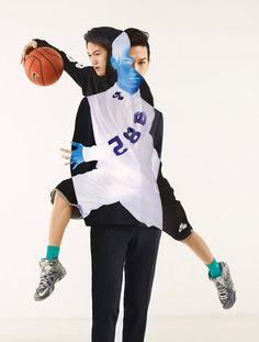 EDITORIAL: Jean Yves-Lomoigne shoots for Nike for Black Rainbow Magazine