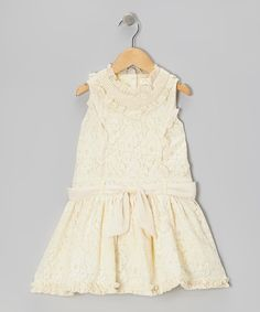 Ivory Lace Princess Dress - Toddler & Girls | Daily deals for moms, babies and kids