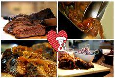 Ricette e Segreti in Cucina : Ricetta dal Texas - Punta di petto di manzo alle s...