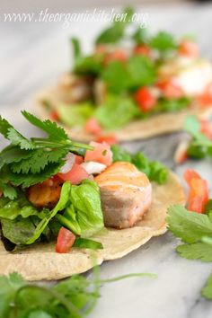 Fresh Fish Tacos from The Organic Kitchen