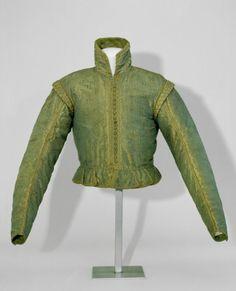 Silk jacket, 16th century, Germanischen Nationalmuseum.