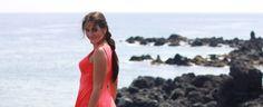 Beach Coral look