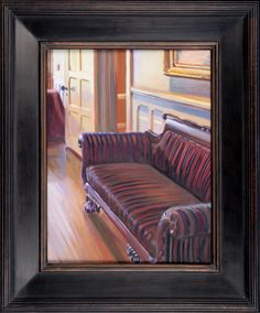 Been painting interiors at Highfield Hall. oil