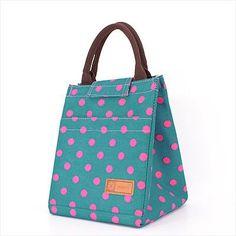 2016 Portable Thermal Bag Women / Men Lunch Bag Cooler Lunch Box Lady Handbag Children / Kids Lunch Bags / Insulation Package