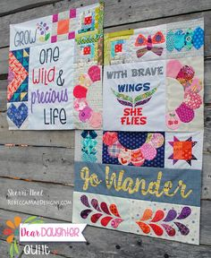 Image of Dear Daughter Quilt Subscription 2016