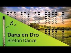 Dans en Dro (Breton folk music) on Tin Whistle D + tabs tutorial Tin Whistle, Folk Music, Irish, Raising, Naruto, Youtube, Spirit, Inspiration, Tools