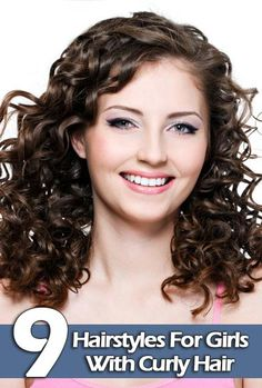 Hair Style Compilation : Easy Curly Hairstyles on Pinterest Natural Curly Hairstyles, Curly ...