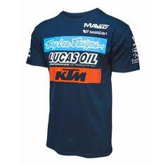 Troy Lee Designs Mens KTM Team T-Shirt  Designs  Men s  Product Features b1bdae0b005