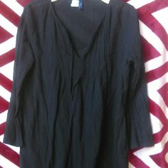 CHAPS Dress Oversized Shirt/Dress Thin material, Cute with leggings & boots Chaps Dresses