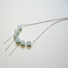 Hey, I found this really awesome Etsy listing at https://www.etsy.com/listing/154855608/sterling-silver-choker-aquamarine