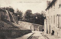 Coin des rues Cortot et Mont Cenis. 18ème.