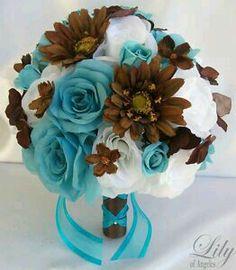 Brown / Blue