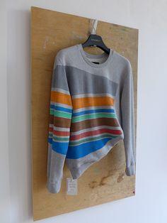 STARBEIT Sweater mit Streifenprint in Multicolor.