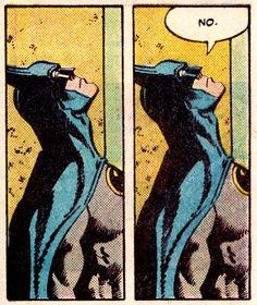 Is that a threat to god? Or challenge to destiny? Na na na na Batman ❤ Batman Comic Art, Im Batman, Batman Comics, Batman Pop Art, Comics Vintage, Old Comics, Comics Und Cartoons, Funny Comics, Comic Books Art
