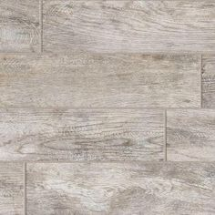 Rustic faux barnwood tile from Lowe's..bought this for powder room floor and master bath walk-in shower