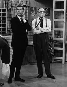 Jack Benny and Johnny Carson.  Carson modeled his timing and comedy from Jack Benny.