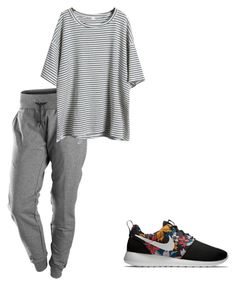 """Sem título #67"" by isaa-swag ❤ liked on Polyvore featuring NIKE"