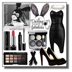 """Dangerous Woman #Ariana Grande"" by asiyaoves ❤ liked on Polyvore featuring Posh Girl, Marc Jacobs, Christian Louboutin, NARS Cosmetics, agnès b., ArianaGrande and dangerouswoman"