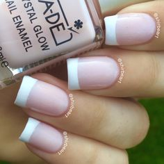French Manicure, for more nail arts go follow me on Instagram @shirbear1 and check my youtube channel Shirbear1