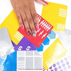 Vinyls have arrived and are ready to assist you during your next #mani creation! #ShopBM and get the perfect lightning bolt, wave, half moon, lines and much more! Which #NailVinyls are you interested in using the most?