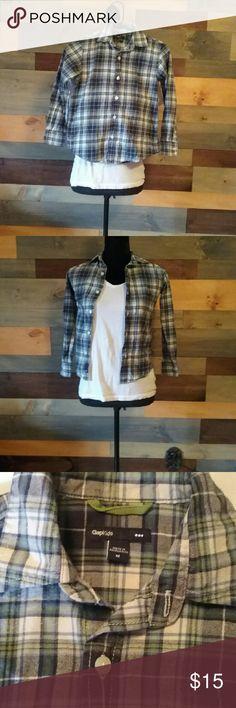 GapKids Flannel shirt Soft and warm GAP Shirts & Tops