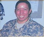 Maria Inez Ortiz, the first American nurse to die in combat during Operation Iraqi Freedom and the first Army nurse to die in combat since the Vietnam War.