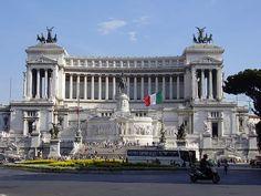 Vittorio Emanuele Monument, Rome; Italy