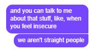 virgil dragging ppl like this is my aesthetic along w him just generally being a huge meme Straight People, Feeling Insecure, Talk To Me, Dumb And Dumber, Texts, I Am Awesome, Love You, Relationship, Messages